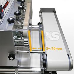 印字装置付卓上型シール機 スマート